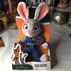 Disney Talking Officer Judy Hopps